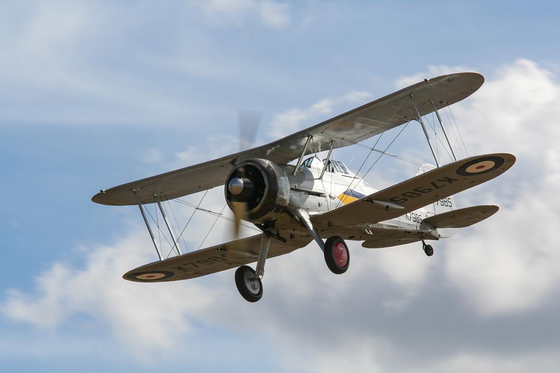 Gloster Gladiator G-AMRK (Shuttleworth Collection)